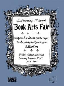 OCAD book fair poster