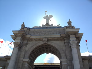 On the Canadian National Exhibition: Day One, The Opening Ceremonies