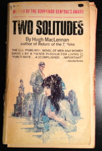 CanLit Canon Review #9: Hugh MacLennan's <em>Two Solitudes</em>