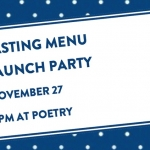 Tasting Menu, the Party: You're Invited